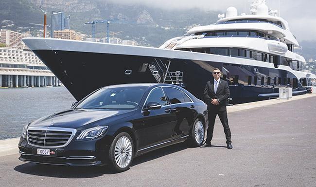 Garde sécurité luxe VIP Monaco Côte d'Azur VIP