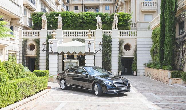 Agent sécurité de luxe